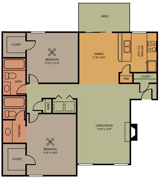 Liberty Floor Plan 5