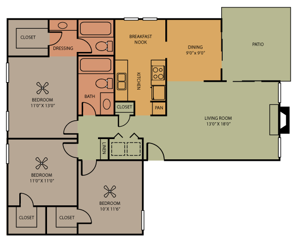 Gatlinburg Floor Plan 9