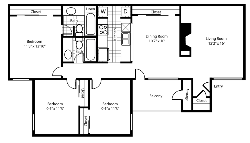 The Chalet Floor Plan 4