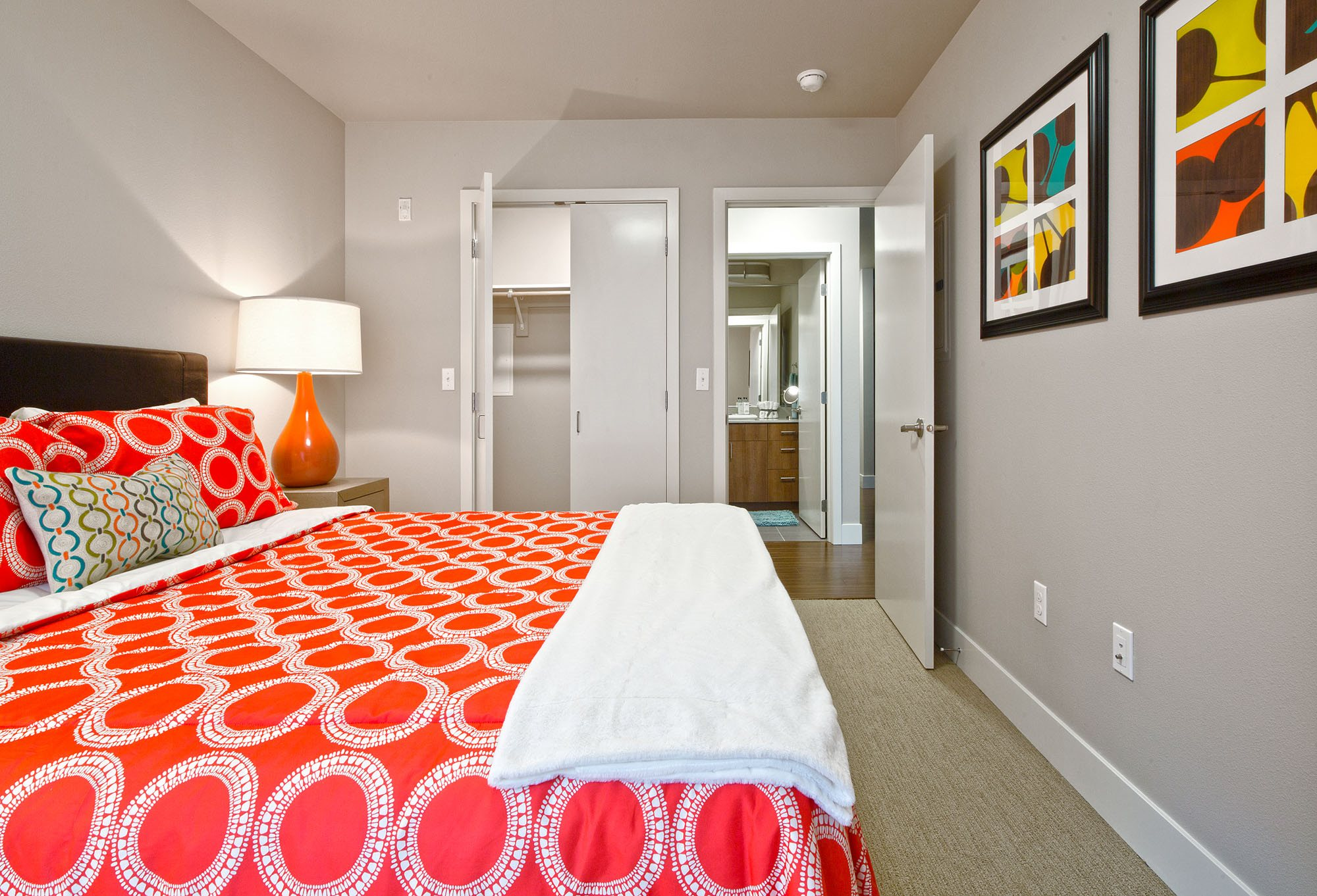 Spacious Bedrooms at Astro Apartments, Seattle, WA,98109