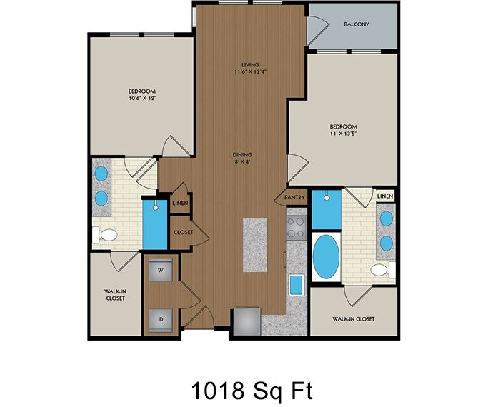 District at Memorial - Houston, TX - Joule floor plan
