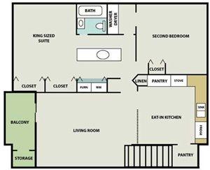 Heritage Village Half Basement (Basement serves as living space in select units)