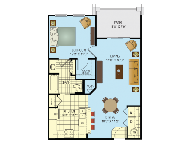 Eola Floor Plan 2