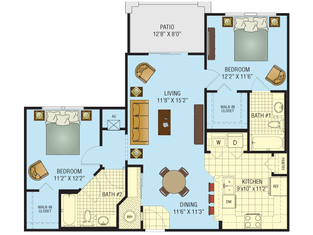 Highland Floor Plan 4