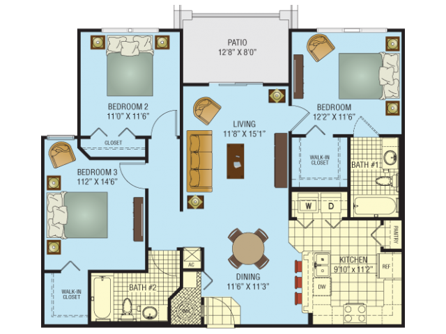 Sunset Floor Plan 6