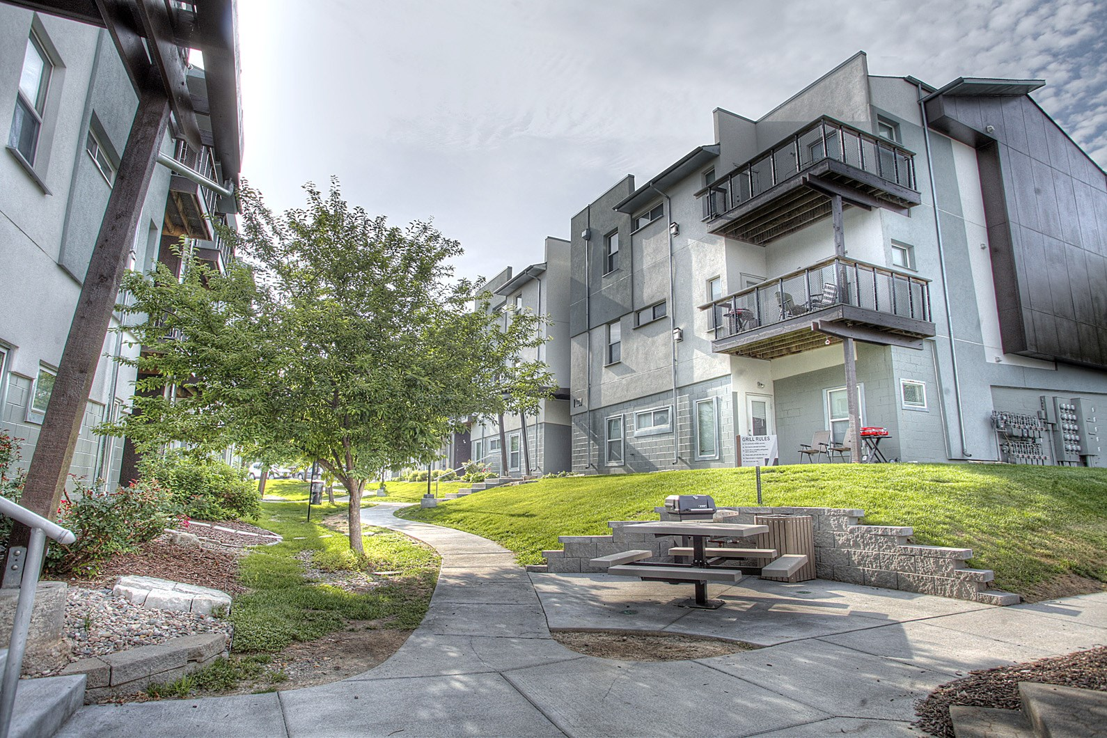Oversized Private Patios & Balconies at Briar Hills, Omaha