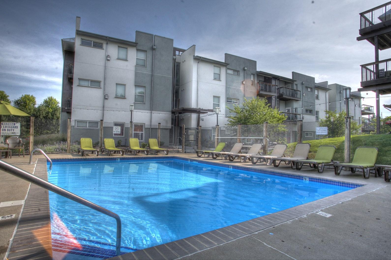 Tranquil Resort Style Pool at Briar Hills, Omaha, NE