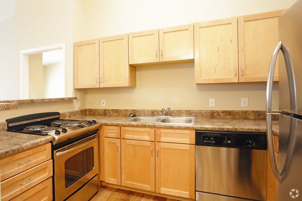 Well Equipped Kitchen at Briar Hills, Omaha