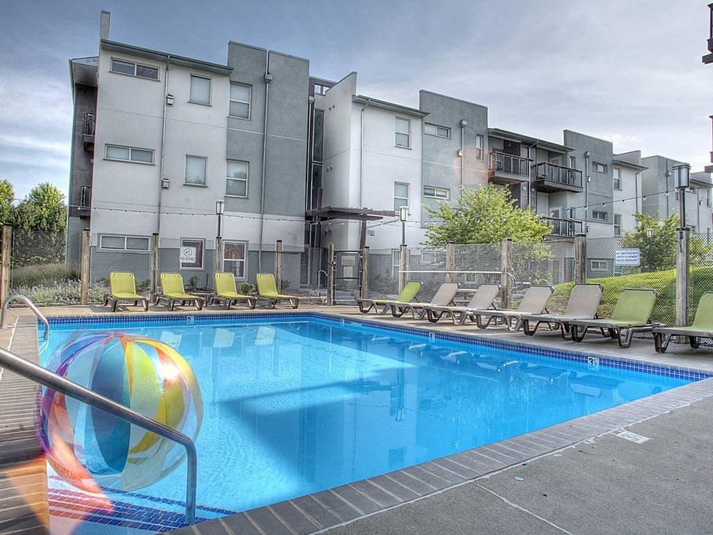 Sparkling Swimming Pool at Briar Hills, Omaha, 68118