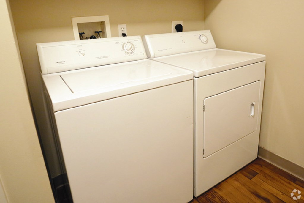 Stacked Washer/Dryer at Briar Hills, Omaha, Nebraska