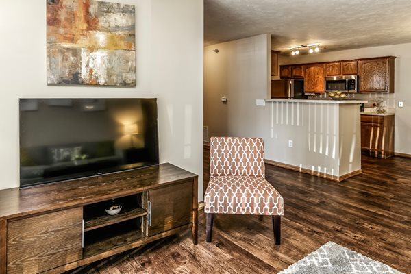 Open Concept Floor Plan at Tiburon View Apartments, Omaha, 68136