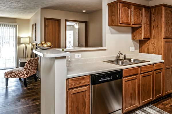 Dishwasher Included at Tiburon View Apartments, Omaha, Nebraska