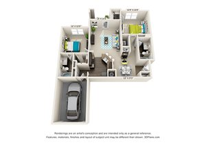 B1 Garage. one bedroom one bath