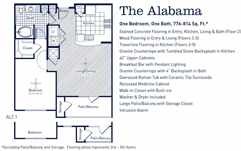 The Alabama Floor Plan 1