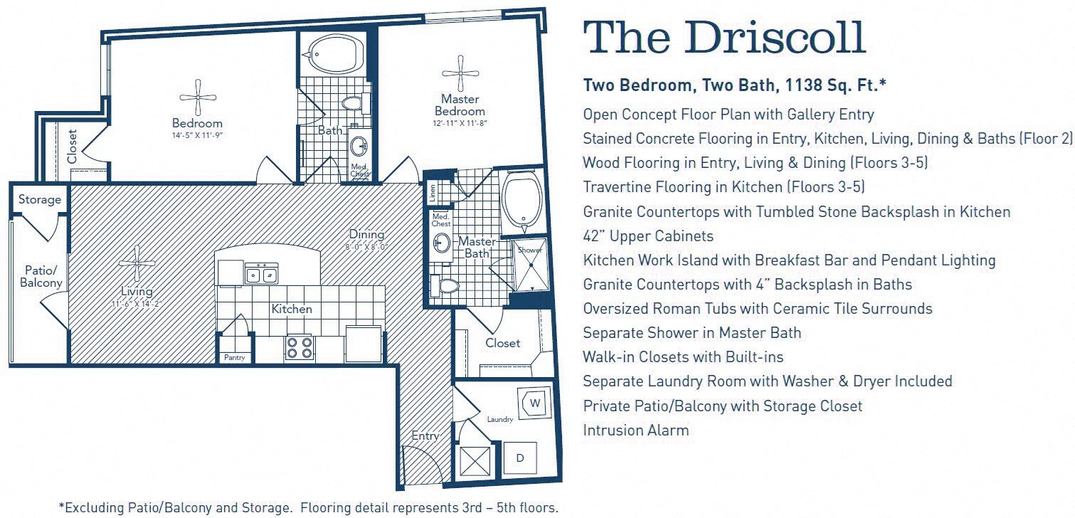 The Driscoll Floor Plan 2