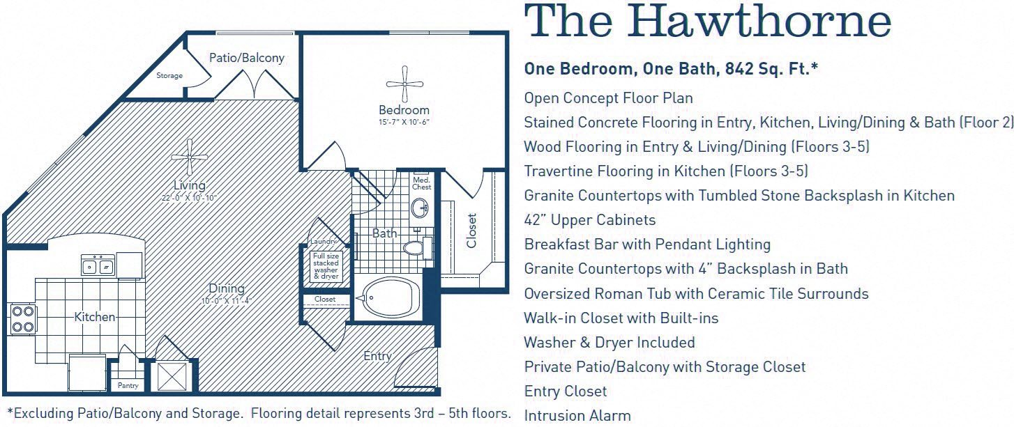 The Hawthorne Floor Plan 5