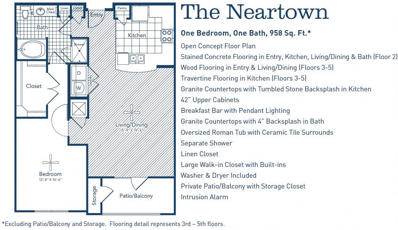 The Neartown Floor Plan 10