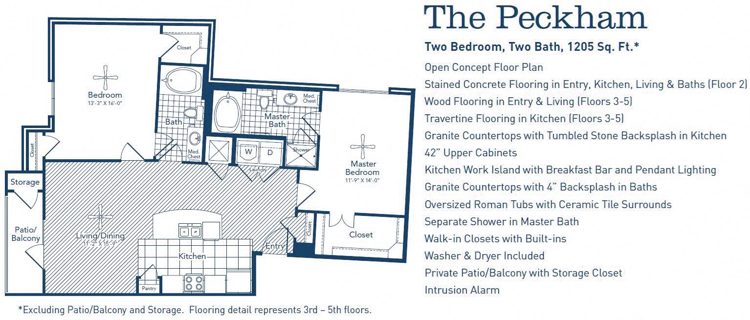The Peckham Floor Plan 11