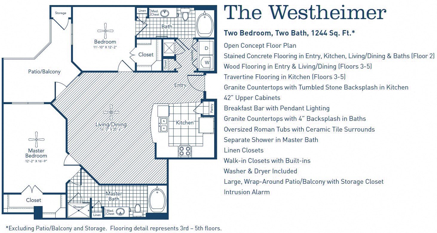 The Westheimer Floor Plan 13