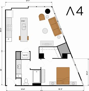 A4 - One Bedroom
