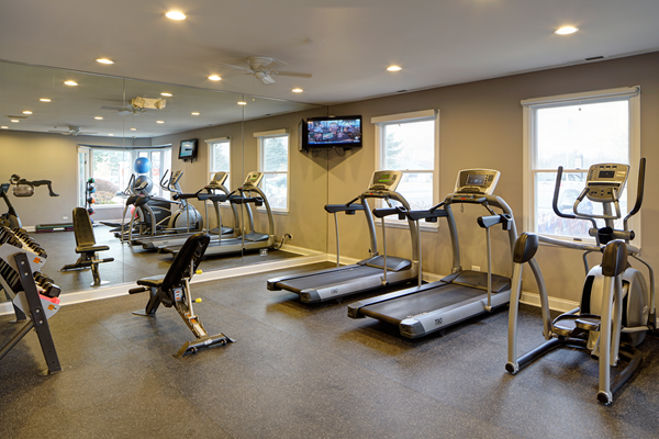 Fully Equipped Fitness Center at Brookdale on the Park, Naperville, IL, 60563