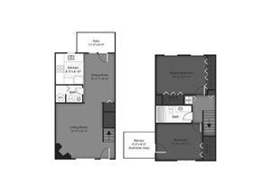 Maple Floorplan at Brookdale on the Park, Naperville, IL 60563