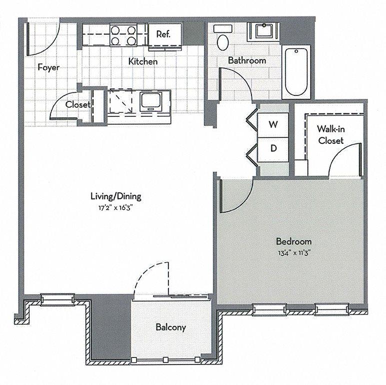 A6 Floor Plan 1