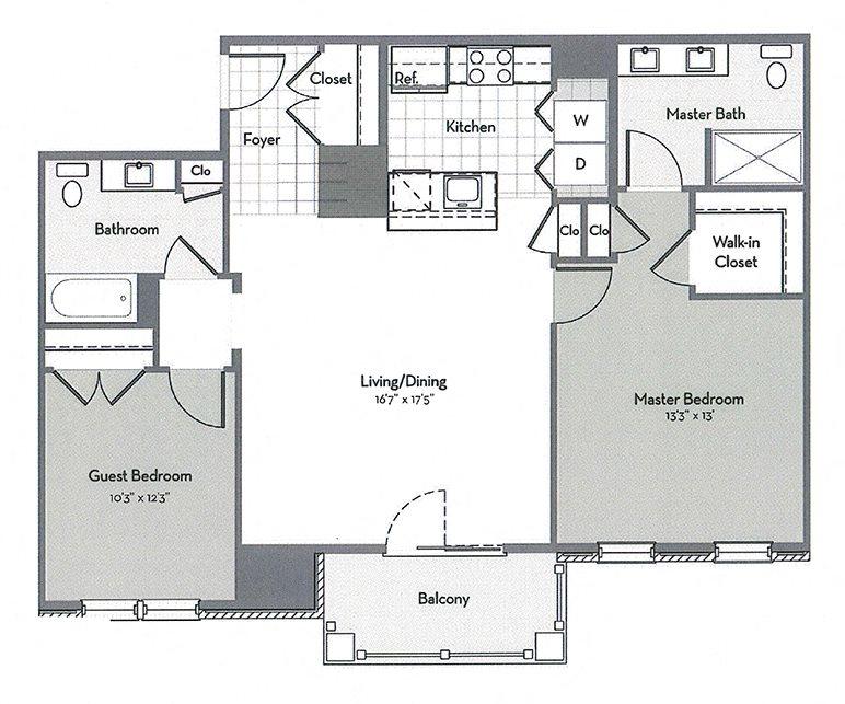 B4-C Floor Plan 4