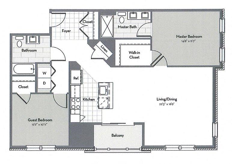 B6 Floor Plan 6