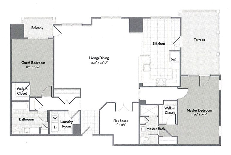 Penthouse C6-M Floor Plan 7