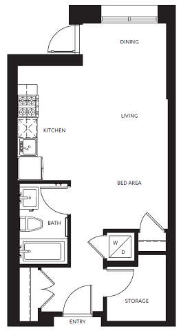 Floor Plans of False Creek Residences in Vancouver, BC