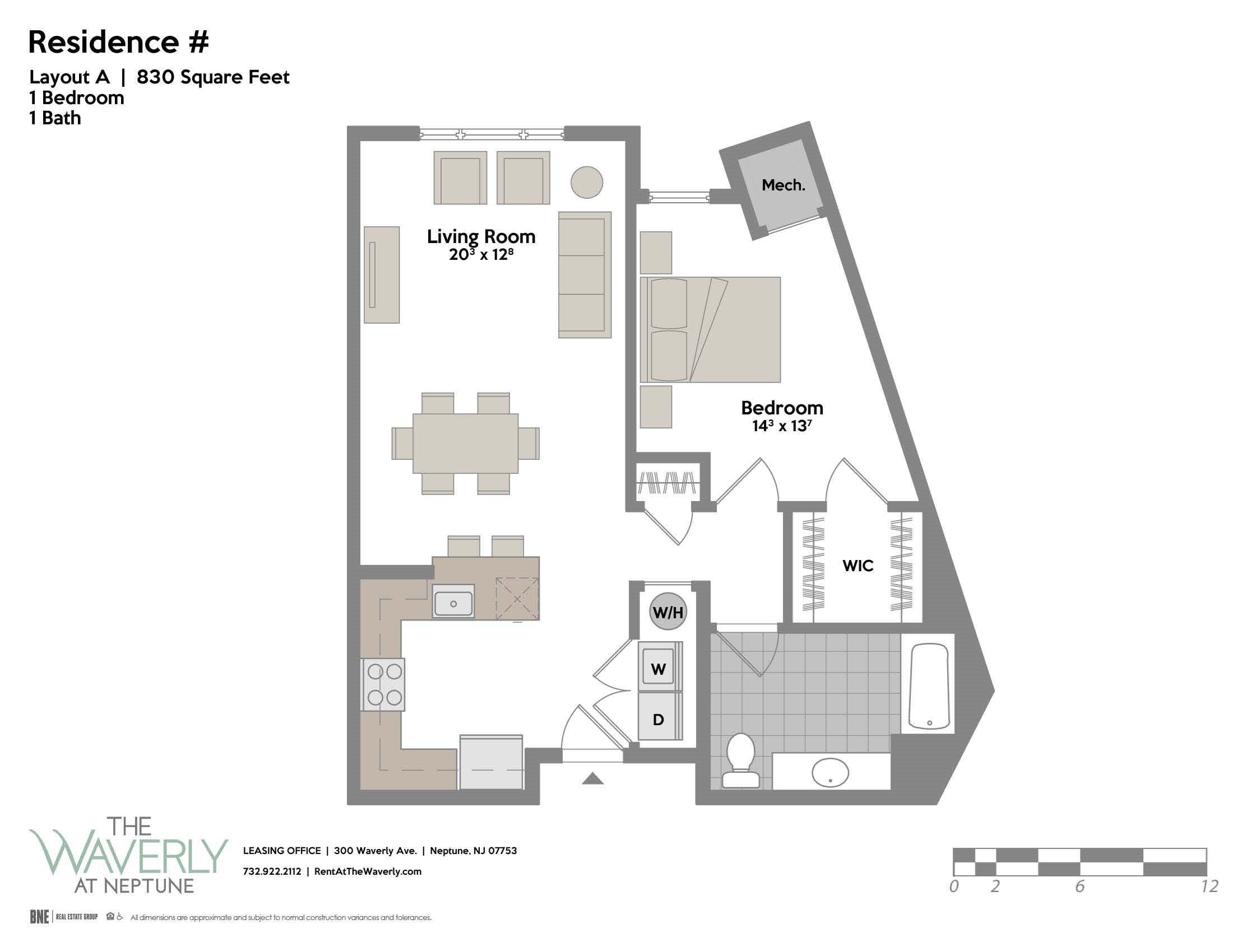 Layout A Floor Plan 1