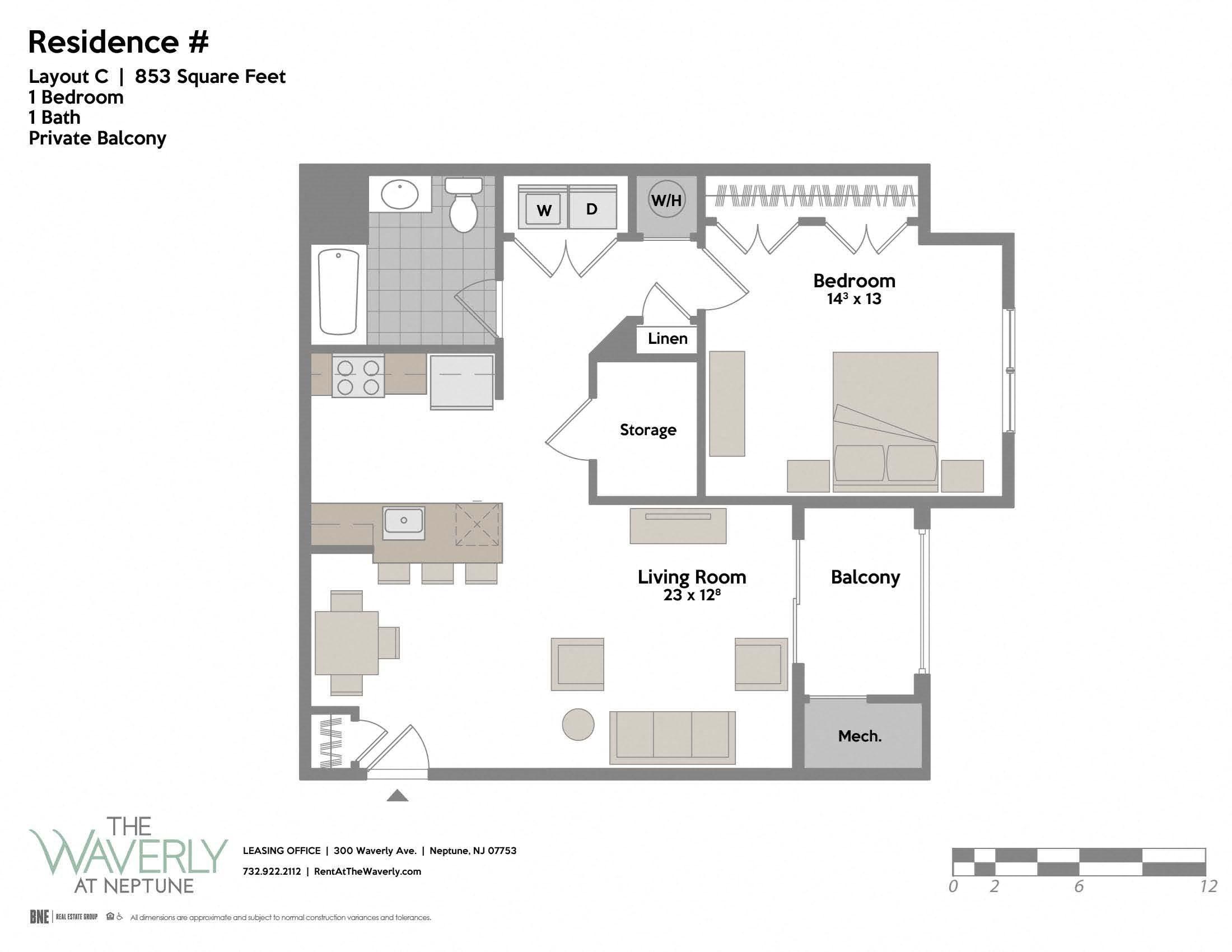 Layout C Floor Plan 3