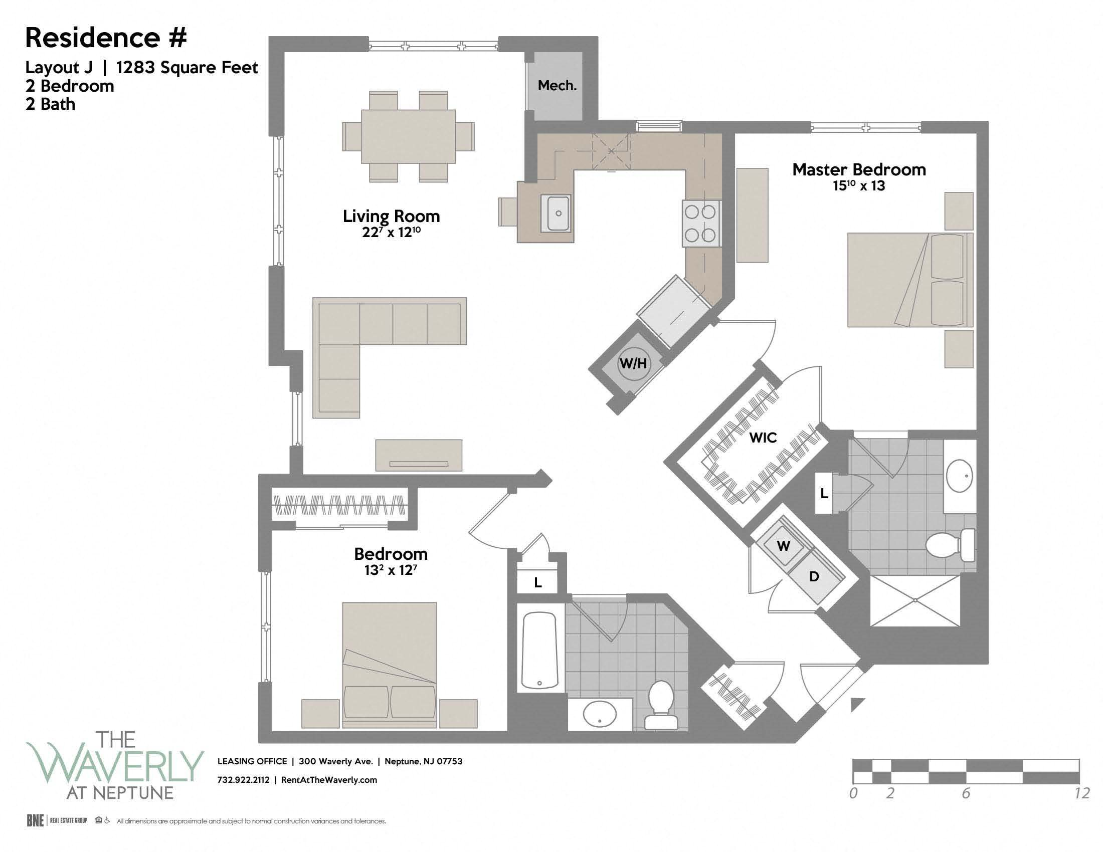 Layout J Floor Plan 7