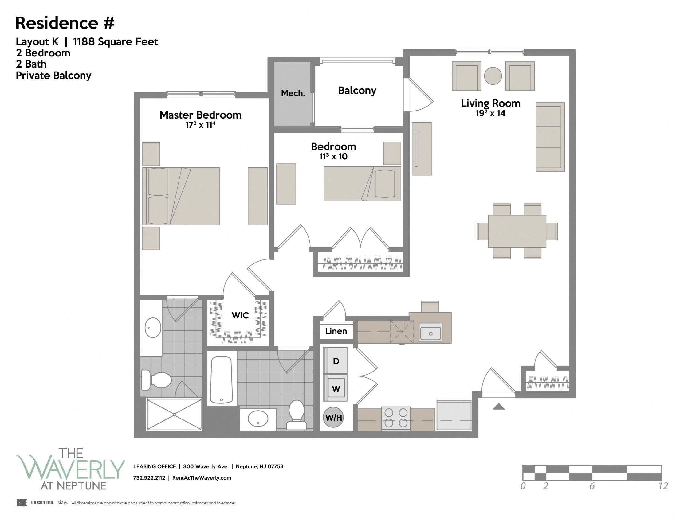 Layout K Floor Plan 8