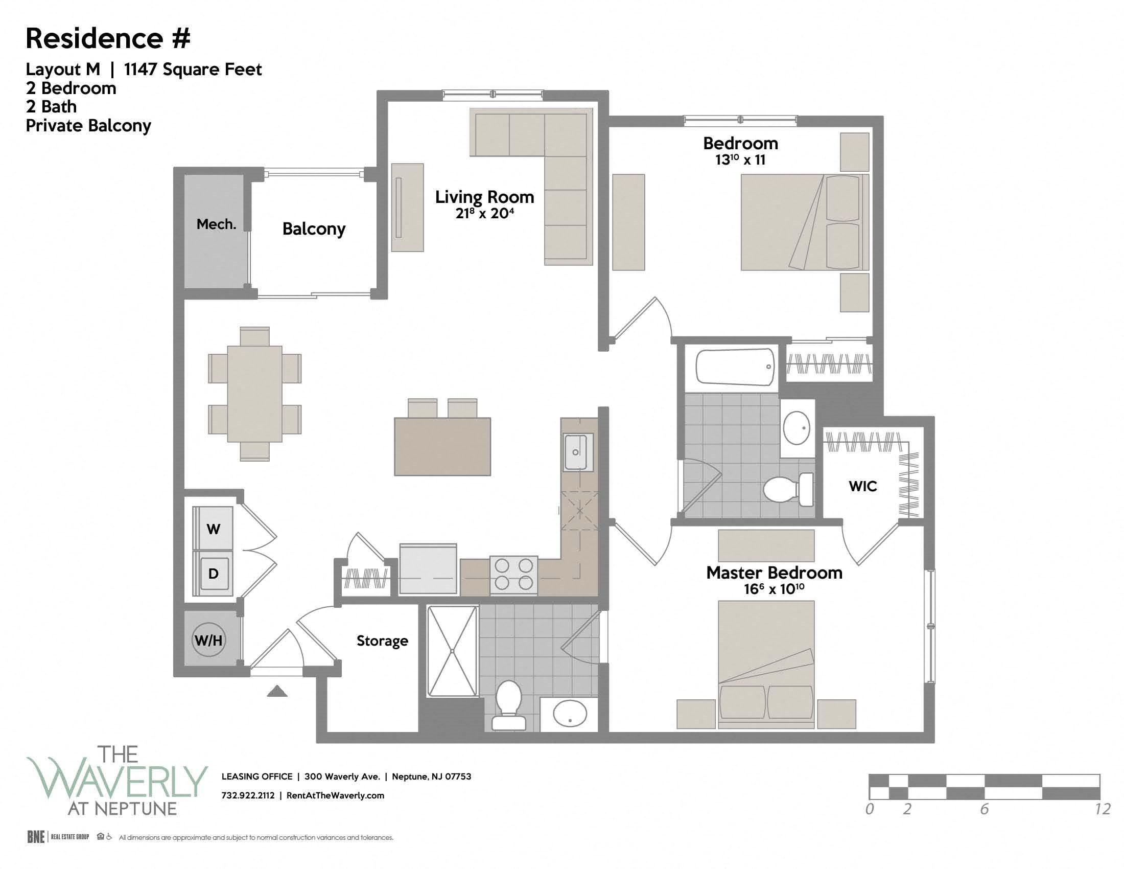Layout M Floor Plan 10