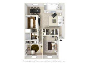 2 Bedroom B1