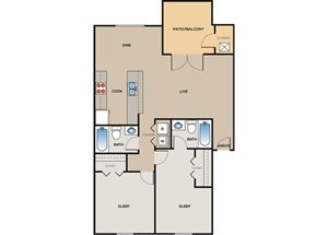 2 Bedroom B4