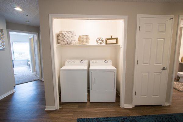 Ashford Belmar includes in-home Washer & Dryer