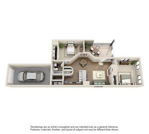 Chelsea Floorplan at Ashford Belmar