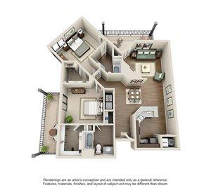 Manhattan Floorplan at Ashford Belmar