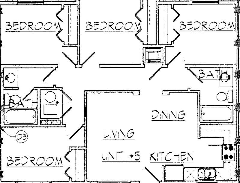 Private Rooms Floor Plan 1