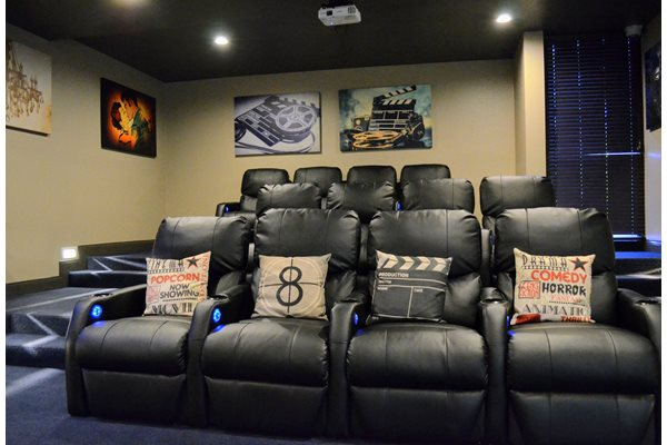 Movie Theater Available at Madison Park Apartment Homes, CA, 92804