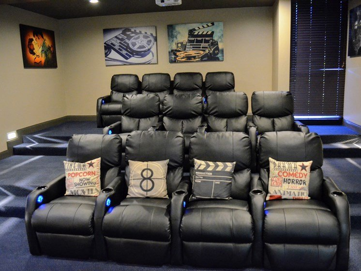 Community Movie Theater at Madison Park Apartment Homes, CA, 92804