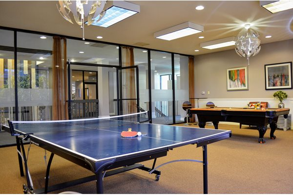 Ping Pong Table at Madison Park Apartment Homes, 2235 W Broadway, CA