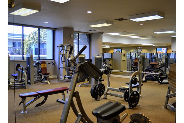 24 hour Fitness Center at Madison Park Apartment Homes, California, 92804