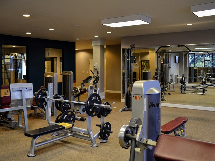 High-Tech Fitness Center at Madison Park Apartment Homes, California, 92804