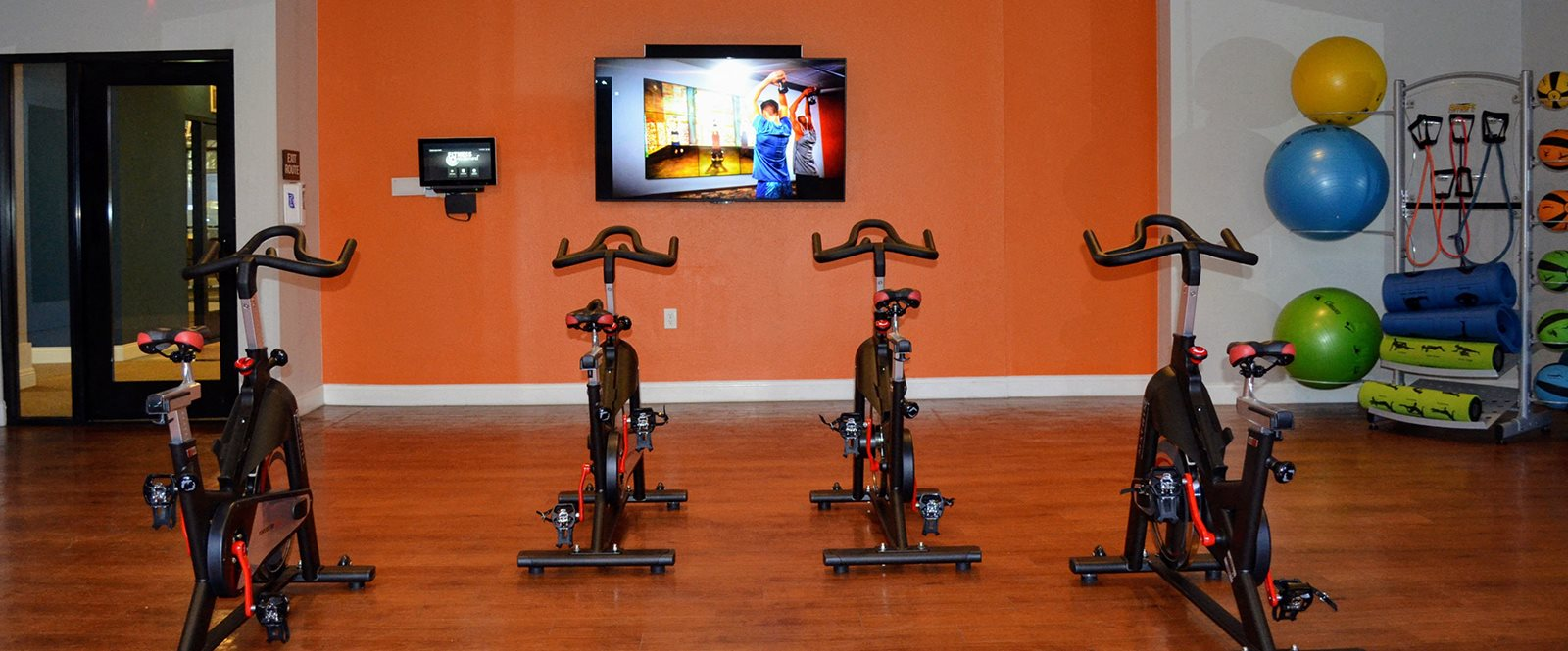 Cardio Equipment at Madison Park Apartments, Anaheim, California