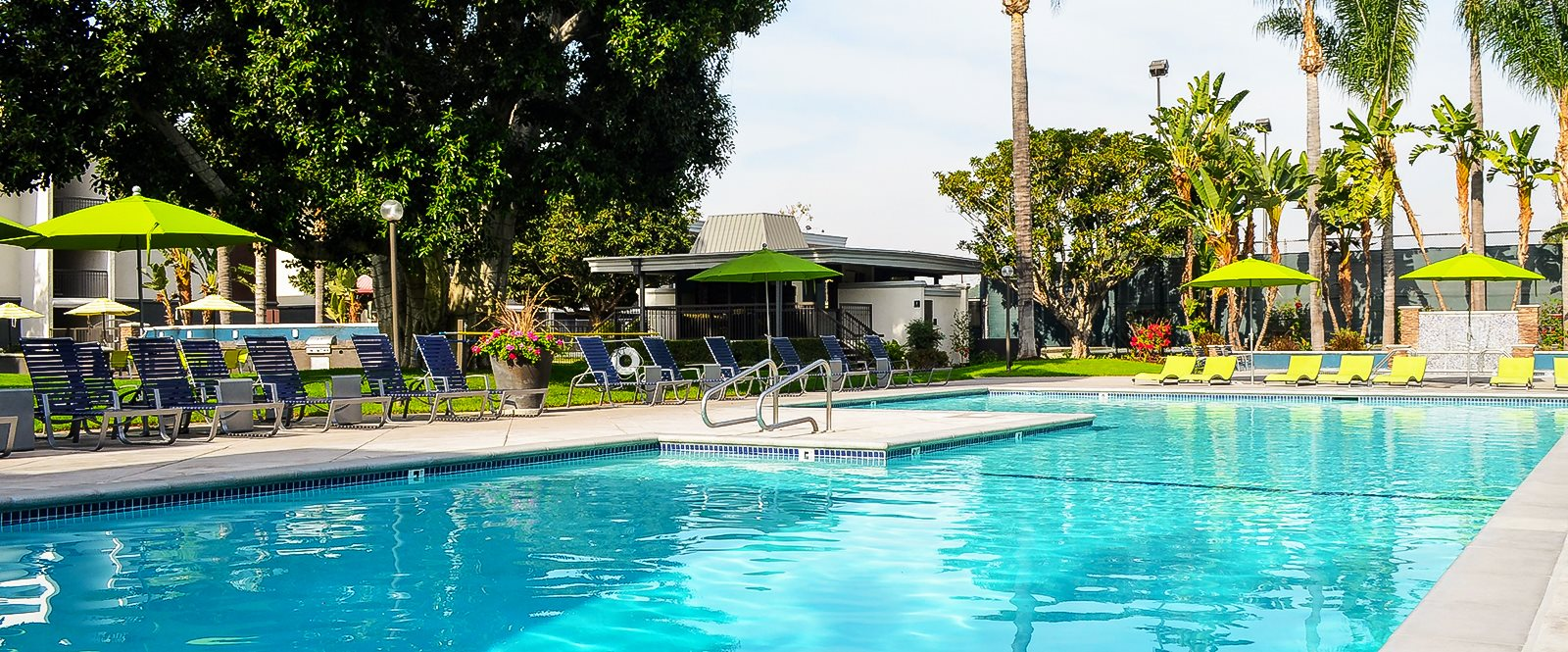 Sparkling, Resort Style Pool at Madison Park Apartments, Anaheim, California