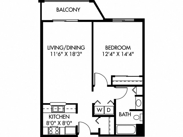 Hartley (Dog Friendly Unit) Floor Plan 2